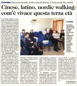 Articolo L'Unione Sarda 12/2017